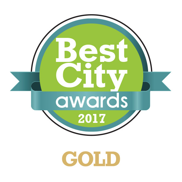 Best City Awards 2017-GOLD